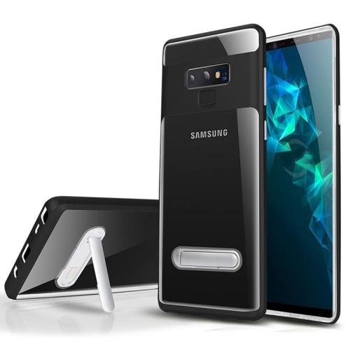 reputable site 5df5e 03175 PANDACO Black Bumper Kick Stand Case for Samsung Galaxy Note 9