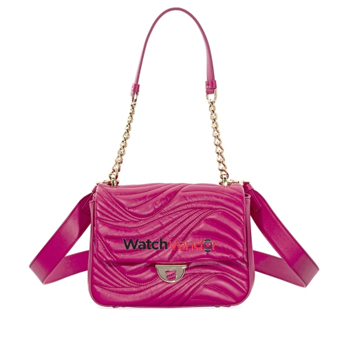 6705d91a6a36 Salvatore Ferragamo Lexi Small Quilted Leather Shoulder Bag- Begonia    Shoulder Bags - Best Buy Canada