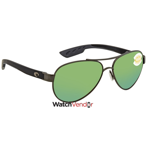 c5f25e2b61 Costa Del Mar Loreto Green Mirror 580P Aviator Sunglasses LR 22 OGMP    Sunglasses - Best Buy Canada