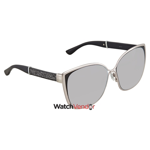 1f7f978d64 Jimmy Choo Violet Silver Cat Eye Sunglasses MATY S 58FU 58   Sunglasses -  Best Buy Canada