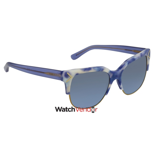 2659b1413a89 Tory Burch Blue Gradient Square Sunglasses TY7117 17078F 55 ...