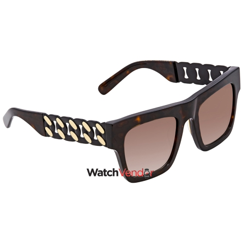 0d0ad23e1f Stella McCartney Brown Gradient Rectangular Sunglasses SC0066S 002 51    Sunglasses - Best Buy Canada