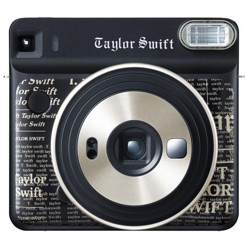 Fujifilm Instax Square SQ6 Taylor Swift Edition Instant Camera - Black
