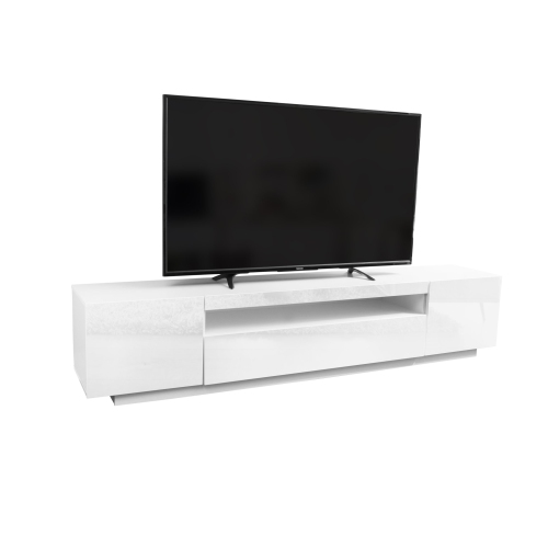 "Tvilum Match 67/"" TV Stand in White High Gloss"