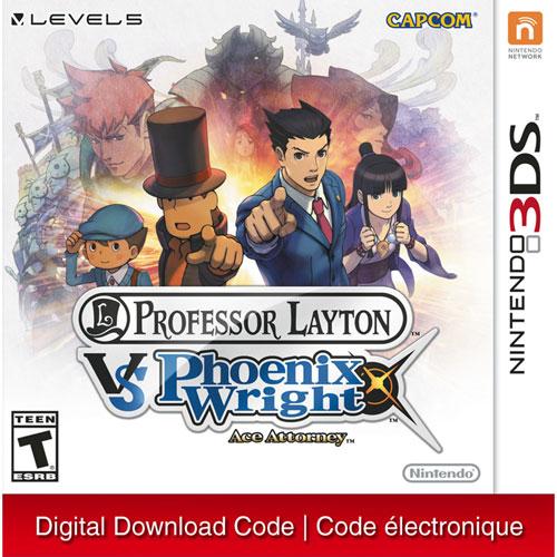 Professor Layton vs. Phoenix Wright: Ace Attorney - Digital Download