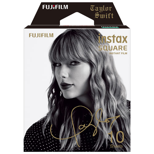 Fujifilm Instax Square Taylor Swift Edition Instant Film - 10 Pack