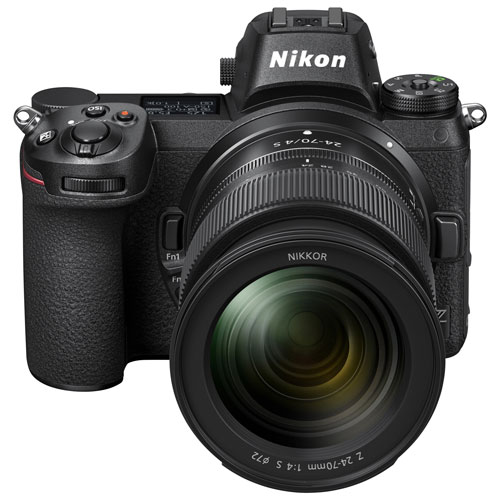 nikon z7 mirrorless camera with nikkor z 24-70mm lens kit ...