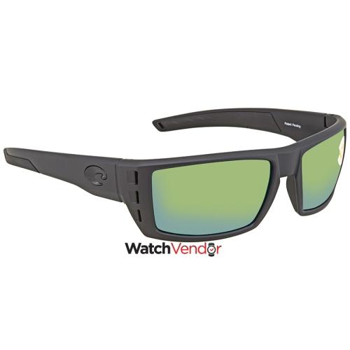 a657c2be8d9ca Costa Del Mar Rafael Medium Fit Green 580P Rectangular Sunglasses RFL 01  OGMP