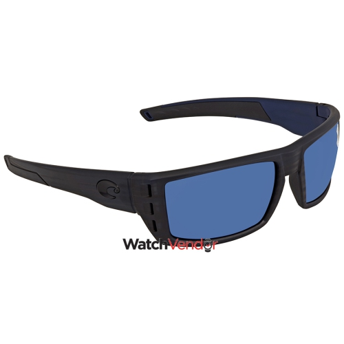 eb2bb66efd07d Costa Del Mar Rafael Blue Mirror 580P Rectangular Sunglasses RFL 111 OBMP    Sunglasses - Best Buy Canada