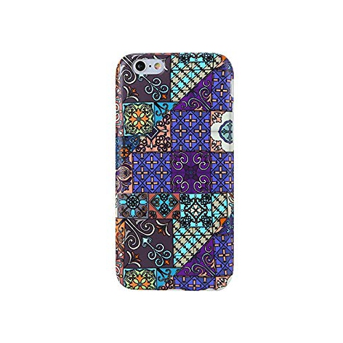 VIVIBIN iPhone 6 CaseiPhone 6s CaseCute Morocco Pattern for Girls Women  Clear Bumper Best Protective Soft Silicone Rubber Ma   iPhone 8 11ef24218