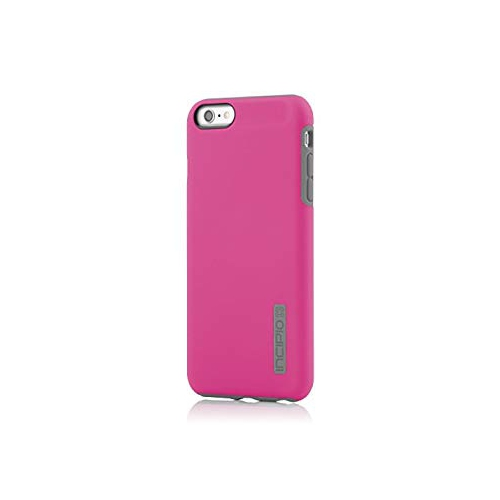 new arrival ba497 727a3 Incipio DualPro Case for iPhone 6 Plus -Pink Charcoal -IPH-1195-PNKGRY