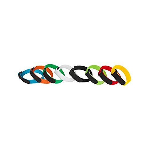 617fea382f5c AGPtEK Colorful Nylon Reusable Cable Ties with Eyelet Holes- Set of 16 8  Colors | Best Buy Canada