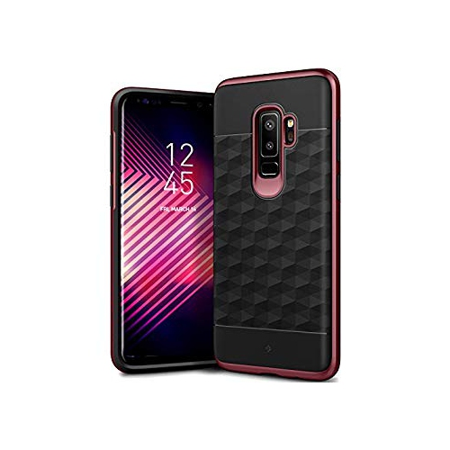 new products 077a0 0fe60 Galaxy S9 Plus Case Caseology [Parallax Series] Slim Protective Dual Layer  Textured Cover Secure Grip Geometric Design for Sa