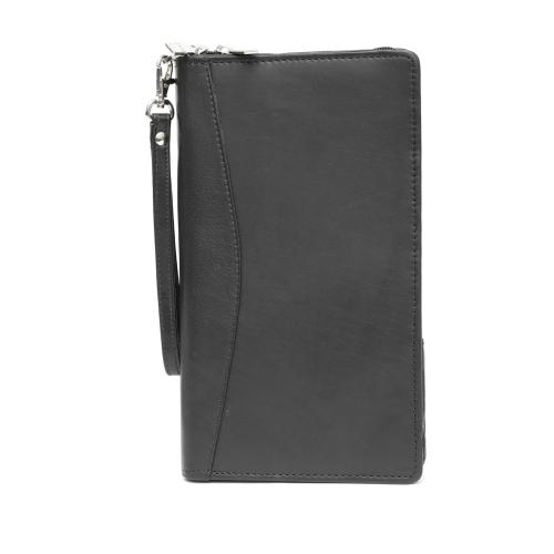 29d5e70bbd58 Ashlin Leather Travel Wallet Passport Cover - Black   Passport Holders -  Best Buy Canada