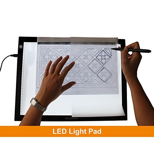 195 Inches Led Tracing Light Box 5mm Adjustable Soft Brightness