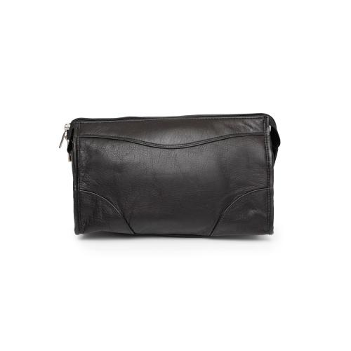 0d71b8bd717d Ashlin Carnegie Leather Shaving Kit - Black   Cosmetic   Toiletry ...