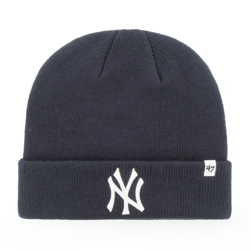 New York Yankees MLB Raised Cuffed Knit Beanie   Hats - Best Buy Canada e763b9cd62a