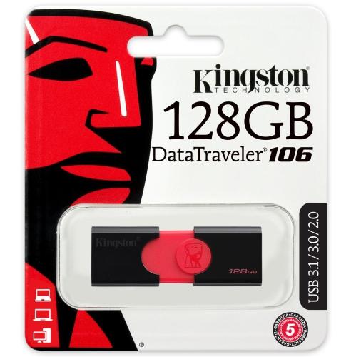 Kingston DT106 USB 3.1 DataTraveler 128GB Memory Stick