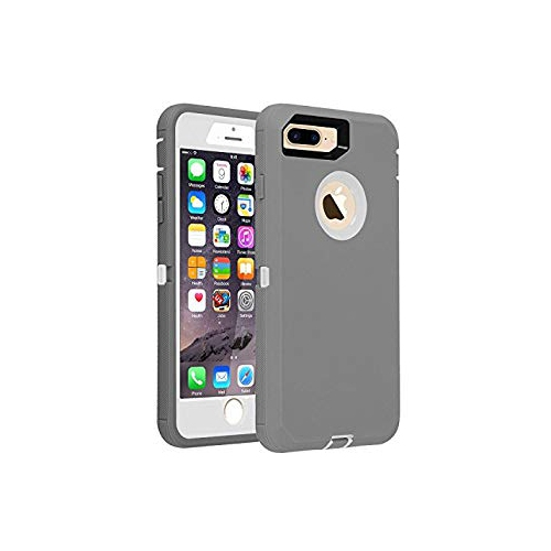 Iphone 7 8 Case Heavy Duty Defender Armor 3 In 1 Built In Screen Protector Rugged Cover Dust Proof Shockproof Drop Proof Best Buy Canada