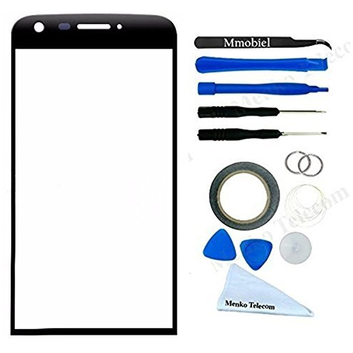 MMOBIEL Front Glass for LG G5 (Black) Display Touchscreen incl Tool Kit  Pre-Cut Sticker Tweezers Roll of Adhesive Tape Sucti