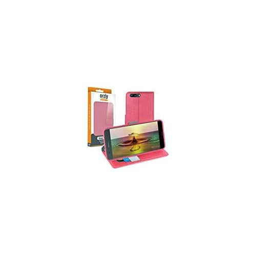 online store b696f 777e7 OnePlus5 Case - Orzly Multi-Function Wallet Case for OnePlus 5 SmartPhone  Model (2017 Version) - PINK Wallet Case Style Phone
