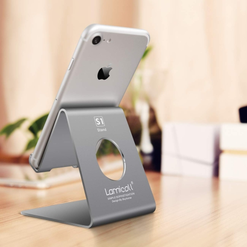 d3ce631924d2c Lamicall Cell Phone Stand Phone Dock   Cradle Holder Stand Compatible with  Switch All Android Smartphone Phone 6 6s 7 8 X - Online Only