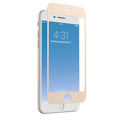 buy popular 0baf7 4d696 ZAGG InvisibleShield Glass + Luxe Screen Protector for Apple iPhone 8  iPhone 7 iPhone 6s iPhone 6 – Extreme Impact and Scra