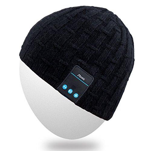 Rotibox Washable Winter Men Women Hat Bluetooth Beanie Running Cap w  Wireless Stereo Headphones Mic Hands Free Rechargeable B   Smart Clothing -  Best Buy ... 7950dce6cb2