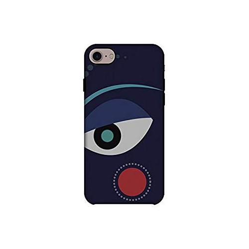 63474bd441150 AMZER Shockproof Slim Fit Dual Layer Handcrafted Halloween Designer Printed  Case for iPhone 8 - Divine Goddess - Blue   iPhone 8