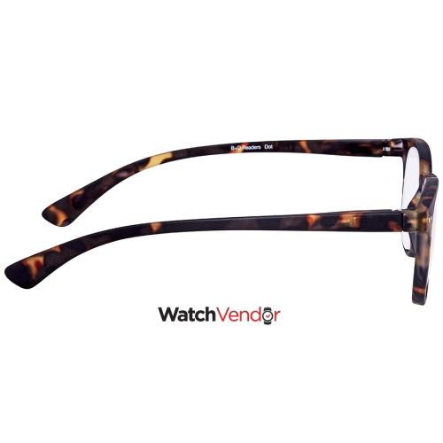 e4b927d32f84 B+D Dot Reader Matt Tortoise +3.00 Eyeglasses 2240-88-30