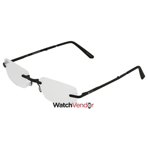 1b8418046307 B+D Folding Readers Matt Black Black +1.50 Eyeglasses 2244-99-15 - Online  Only