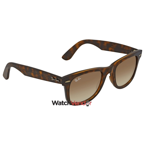 b0a2fc4ecc Ray Ban Wayfarer Ease Light Brown Gradient Square Sunglasses RB4340 710 51  50   Sunglasses - Best Buy Canada