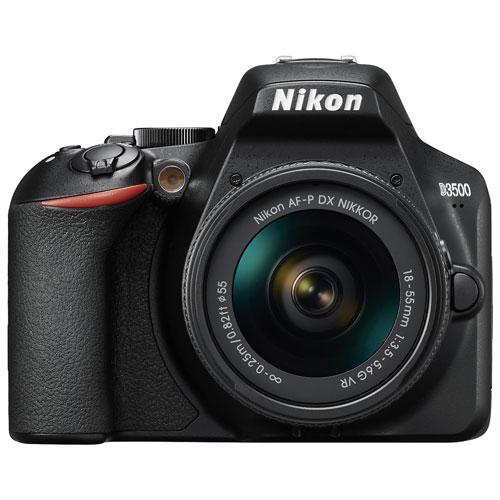 nikon d3500 dslr camera with 18-55mm vr lens kit : dslr kits - best ...