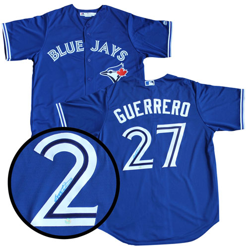 promo code c3203 6cb1b Frameworth Toronto Blue Jays: Replica Jersey Signed By Vladimir Guerrero Jr  - Online Only