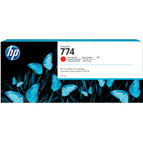 HP 774 775-ML CHRMTC RED INK CARTRIDGE