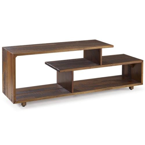 We Furniture Living Room Unique Design 60 Rustic Solid Wood Console