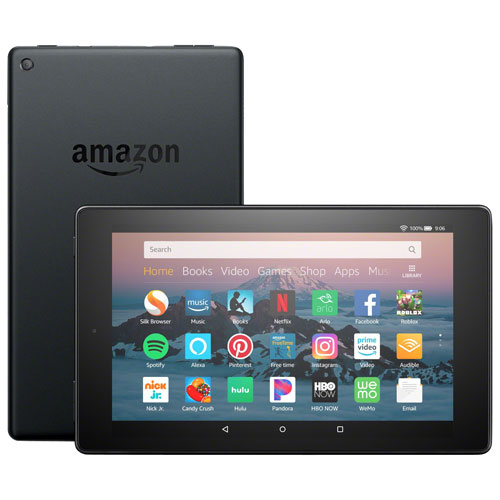 "Amazon Fire HD 8"" 32GB FireOS 6 3G Tablet With MTK Quad-Core Processor - Black"