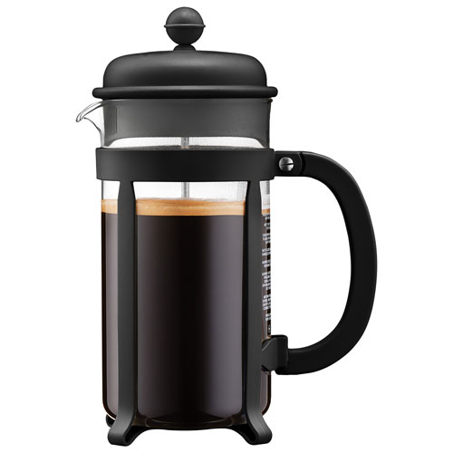 Bodum Java French Press - 8 Cup - Black