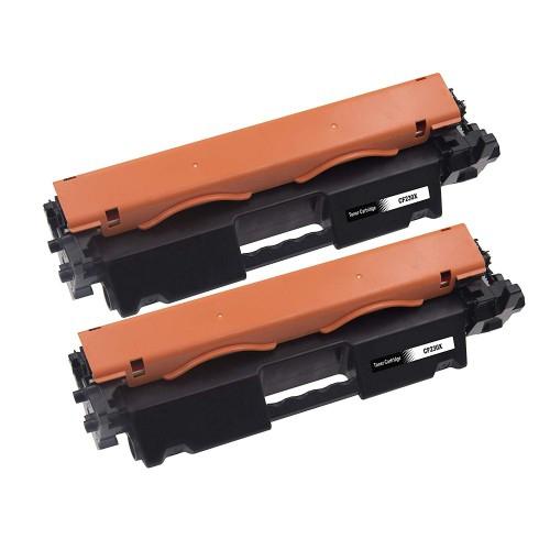 2PK Genuine HP 30X CF230X Black Toner Cartridge LaserJet Pro M203dn M227d NEW
