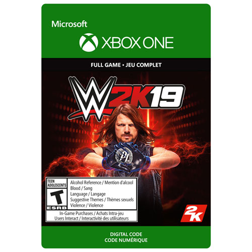 WWE 2K19 (Xbox One) - Digital Download