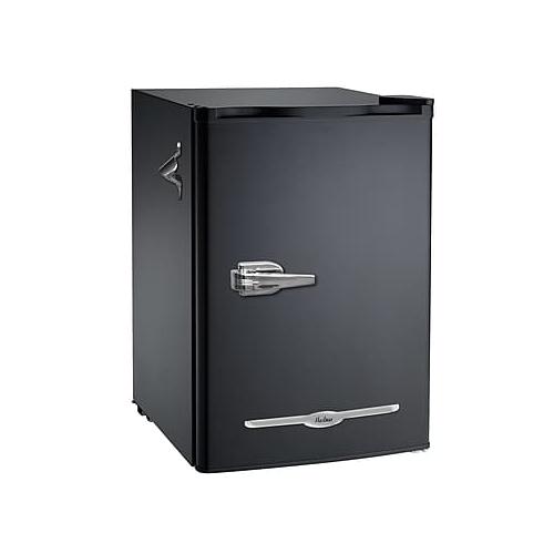 royal sovereign retro compact fridge 2 6 cu ft black under the counter refrigerators best. Black Bedroom Furniture Sets. Home Design Ideas