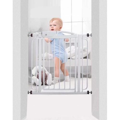 74 99CM Standard Adjustable Steel Baby Stair Guardrail Childrenu0027s Safety  Gates