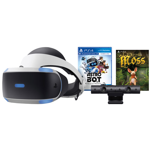 3ffb92096c7 PlayStation VR Astro Bot   Moss Bundle   Virtual Reality Headsets - Best Buy  Canada