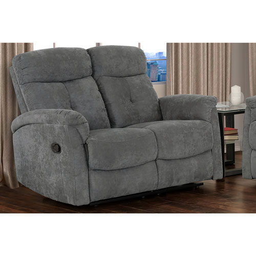 Causeuse Inclinable En Tissu England Gris Best Buy Canada
