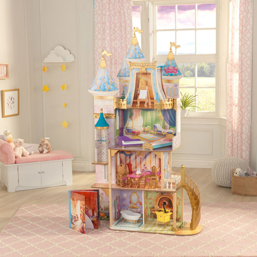 kidkraft disney princess royal celebration dollhouse dolls dollhouses best buy canada. Black Bedroom Furniture Sets. Home Design Ideas