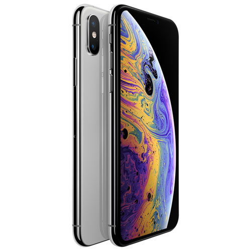 TELUS Apple iPhone XS 64GB - Silver - Monthly Financing