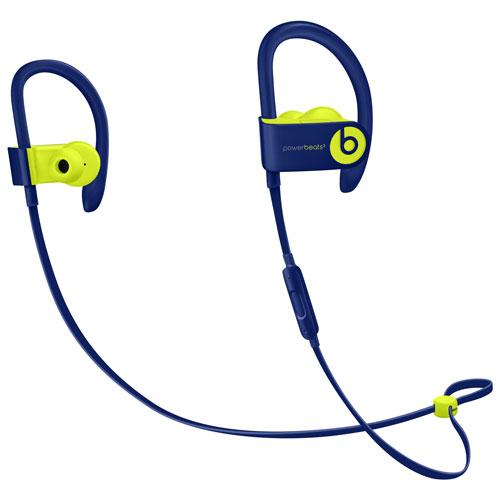 Beats by Dr. Dre Powerbeats3 In-Ear Sound Isolating Bluetooth Headphones - Pop Indigo