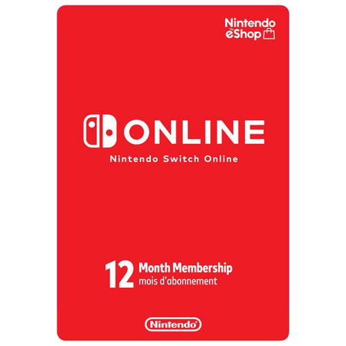 Nintendo Switch Online 12 Month Membership Digital Download Best Buy Canada