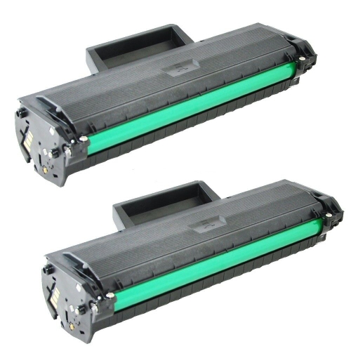 2 PK Toner Cartridge MLT-D104S Compatible for Samsung ML1660,ML1661,ML1665,ML1666,ML1670,ML1675,ML1865,SCX3200,SCX3205