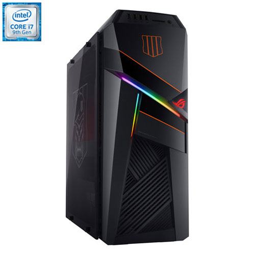 Asus ROG Strix Call of Duty Gaming PC(Intel Core i7/2TB HDD/256GB SSD/16GB RAM/NVIDIA RTX 2080) GL12CM-DH781-COD